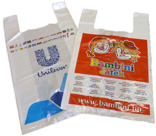 Vest Handle PE Carrier Bags